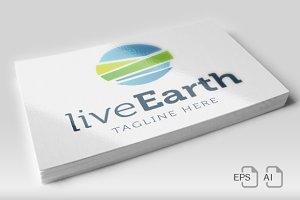 LiveEarth - Logo