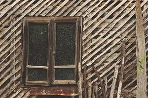 Old barn window 1