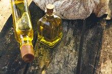 oil bottles