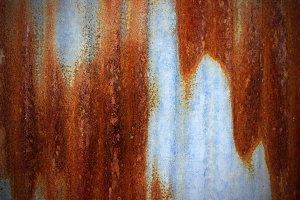 rust on zinc
