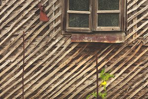 Old barn window 3