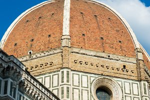 Dome of cathedral in Florence Italy