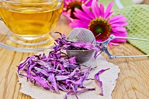 Herbal tea with Echinacea