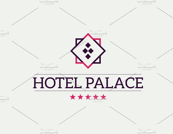 Hotel Palace - Editable Logo