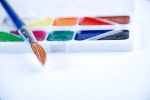 Colors paints art