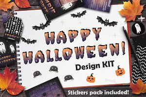 Happy Halloween! Design KIT