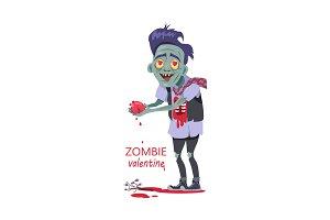 Zombie Valentine Man