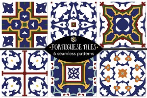 Set 21 - 6 Seamless Patterns