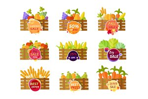 Sale Fruits and Vegetables