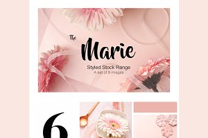 Stock Photo Bundle - Marie
