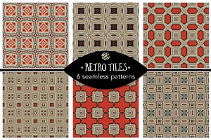 Set 22 - 6 Seamless Patterns