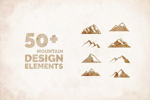 50+ Mountain Icon Graphics