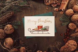 2 Christmas mock-ups