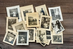 Vintage family photos