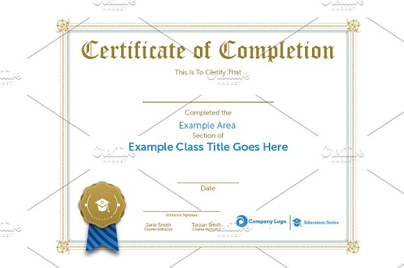 10 Great Looking Certificate Templates for All Occasions ~ Creative ...