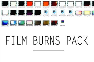 Film Burns Pack (37 files)