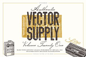 Unember Vector Supply Volume 21