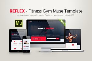 Fitness Gym Muse Template
