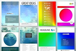 A4 format brochures v.27
