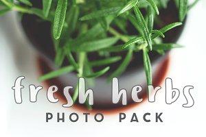 Fresh Herbs Photo Pack