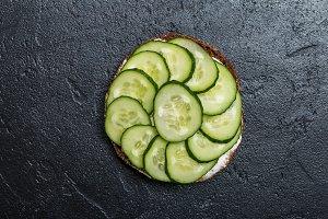 Vegetarian sandwiche