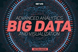 Big Data Abstract Backgrounds Part 3