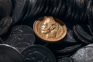 coin from precious metal