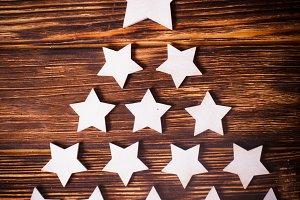 Cristmas tree stars