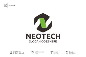Neotech - N Logo
