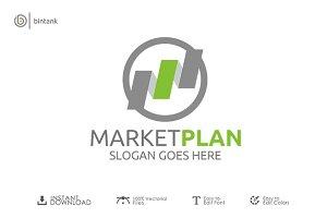 Market Plan - M Logo