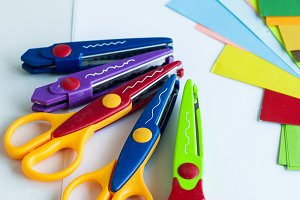 lot curty scissors