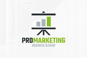 Pro Marketing Logo Template