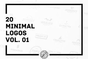 20 Minimal Logos vol. 01
