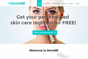 Skin care clinic responsive template