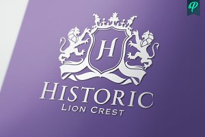 Historic - Lion Crest Logo
