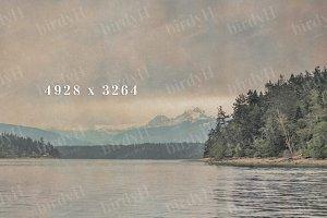 old illustration style background