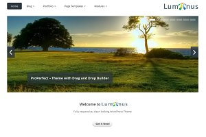 Luminus - Responsive WordPress Theme