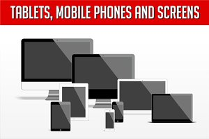 Tablets, mobile phones and screens
