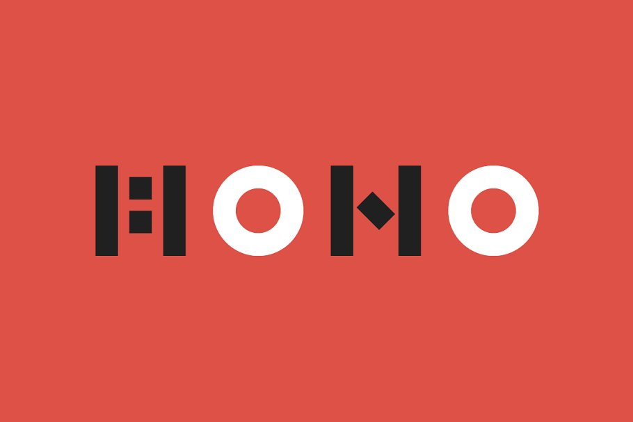 MONO — Block Font