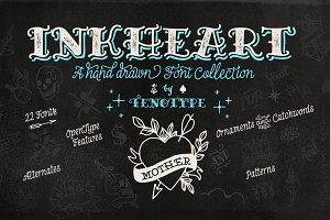 Inkheart Font Collection!