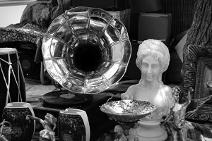 Gramophone Antique Objects