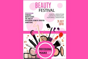 Beauty Festival Flyer