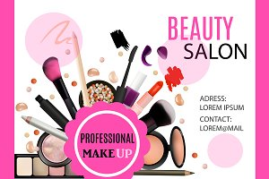 Beauty Salon Card