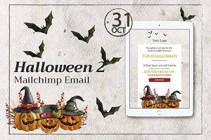 Halloween 2 Mailchimp Email