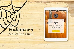 Halloween Mailchimp Eblast