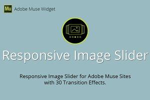 Responsive Image Slider Muse Widget