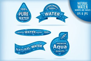 Natural Water Banners