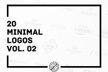 20 Minimal Logos vol. 02