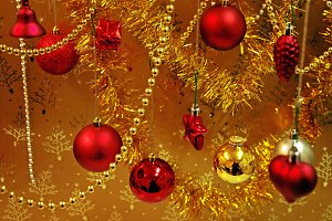 Christmas Red Decoration 3.