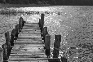 Jetty to the sun